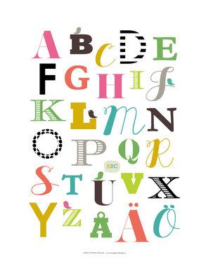 Nu ska vi lära oss ABC