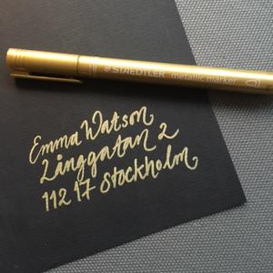 Staedler Metallic marker Guld