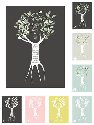 Kärleksträd - personligt