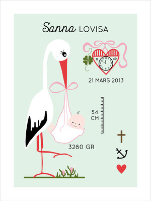 Stork  - retro
