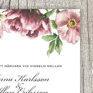 Blomsterkant vintage
