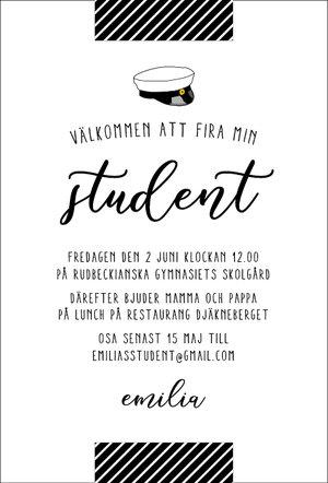 Studentkort Ruta rand