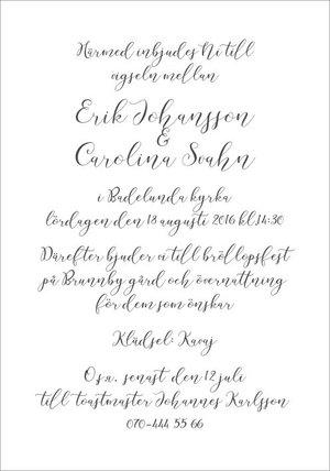 Kalligrafi enkelt