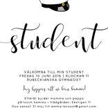 Studentkort Kalligrafi