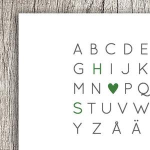 Alfabet - enkelt