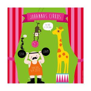 Födelsetavla - Cirkus