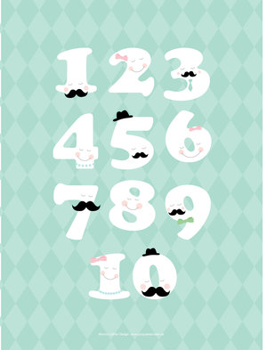 123 - mustasch