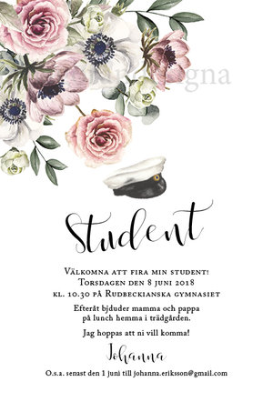 Rosa floral student