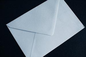 Kuvert C6 ljusblå