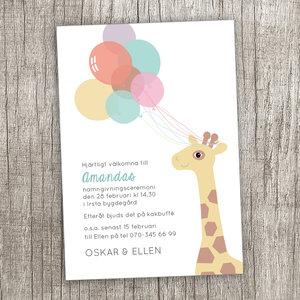 Giraff - pastell