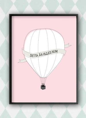 Luftballong - personlig