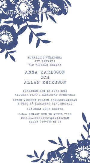 Blå Anemon